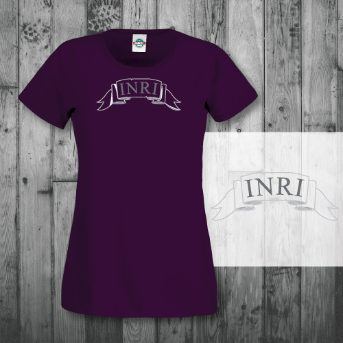 031369acc INRI Lady T-shirt by KabooInspire - KabooDesign